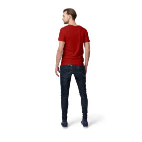Red Back Men half sleeves